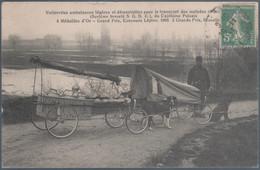 Voitures à Chiens , Voiturettes Ambulances Légères Pour Le Transport Des Blessés , Animée - Ausrüstung