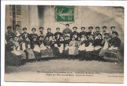 MONTESQUIEU-VOLVESTRE  - Institution De Jeunes Filles - Leçon De Couture. - Otros Municipios