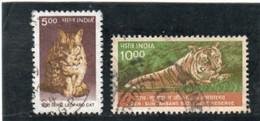INDE   République  2000  Y.T. 1525  1526  Oblitéré - Used Stamps