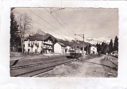 CPSM : 14 X 9  -   La  Gare  -  VERCHAIX - MORILLON - Le Criou, Le Grenairon. - Altri Comuni