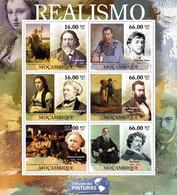 Mozambique 2011 MNH - Realism (Jules Breton, Ilya Repin). Y&T 4228-4233, Mi 5170-5175, Scott 2433 - Mozambico