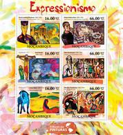 Mozambique 2011 MNH - Expressionism (Ernest Ludwig Kirchner, Kadinsky). Y&T 4258-4263, Mi 5191-5196, Scott 2432 - Mosambik