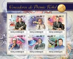 Mozambique 2011 MNH - Nobel Prize Winners (Bruce A.Beutler, Adam G.Riess). Y&T 4488-4493, Mi 5267-5272, Scott 2470 - Mozambico