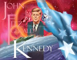 Mozambique 2012 MNH - John Fitzgerald Kennedy (1917-1963). Y&T 529, Mi 5560/Bl.597, Scott 2563 - Mozambico
