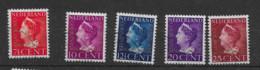 1947 USED Nederland Dienst D20-24 - Dienstpost