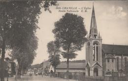 CHAVILLE L'EGLISE ROUTE NATIONALE - Chaville