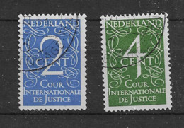 1950 USED Nederland Dienst D25-26 - Officials