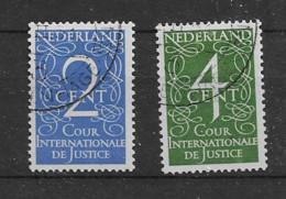 1950 USED Nederland Dienst D25-26 - Dienstpost