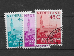 1950 USED Nederland Dienst D41-43 - Officials