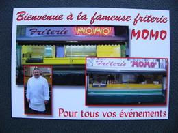 Cpm LENS 62 Friterie MOMO Bienvenue Chez Les Ch'tis . RC Lens Jean Paul Dambrine - Lens