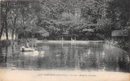 HARFLEUR - Le Lac - Route De Gournay (carte Pas Courante) - Harfleur
