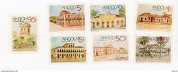 Angola 1990-Gare,musée,palais,observatoire Météo-YT 756/62***MNH - Angola