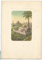 K4457 Gerusalemme Jerusalem - Natività Della Madonna - Illustrazione Illustration Dandolo Bellini / Viaggiata 1957 - Israele