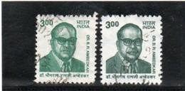 INDE   République  2001  Y.T. 1596  Oblitéré  2 Couleurs - Used Stamps