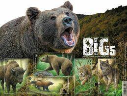 2020 Fauna Buzin  MNH !! Bizon Wisent Beer Ours Lynx Wolf Loup Veelvraat - Nuovi
