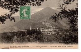 06VIL1 - LE VILLARD Du VAR , Vue Générale - Other Municipalities
