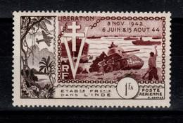 Inde - YV PA 22 N** Liberation Cote 9,50 Euros - Ongebruikt