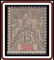 Grande Comore - N° 15 (YT) N° 15 (AM) Neuf *. - Neufs
