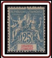 Grande Comore - N° 16 (YT) N° 16 (AM) Neuf *. - Neufs