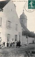 SOING (Haute-Saône) - La Poste Et L'église. Circulée En 1911. TB état. - Other Municipalities
