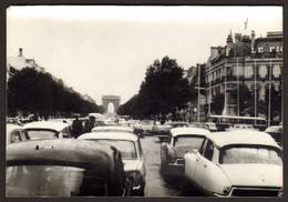 PARIS Old Car Citroen DS Old Photo 13x9 Cm #24572 - Cars