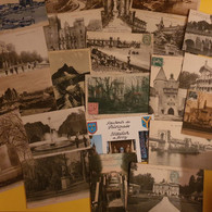 LOT DE 100 CARTES - 100 - 499 Postcards