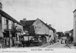 SCEY-sur-SAONE (Haute-Saône) - Grande Rue. Edition Robez-Masson. Léger Pli, Coin Haut Gauche - Andere Gemeenten