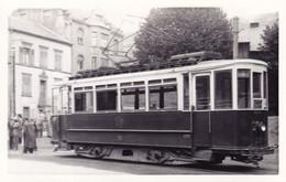 57 THIONVILLE  Carte Photo Tramway 32 Thionville Algrange 4/9/1950 Moselle Lorraine - Thionville
