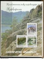 Protected Reserve & National Park Of Karkaraly / Kazakhstan.(Mountain Goat,Rock Formation,etc) MS Mint ** KAZAKHSTAN - Kazajstán