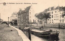 ~~ Malines - Quai Au Sel / Mechelen - Zoutkaal (péniche) - Mechelen