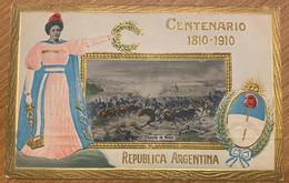 Argentina - Batalla De Maipu - Centenario 1810-1910 (used, 1910) - Argentinien