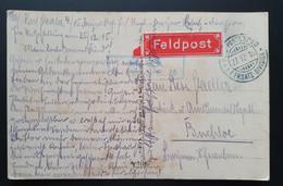 """Deutsches Reich 1915, Postkarte FELDPOST """"Anrichten Der Mahlzeit"""" - Covers & Documents"""