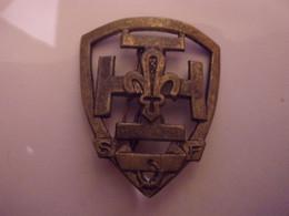 VINTAGE Insigne Scout  De France Scoutisme - Scoutisme