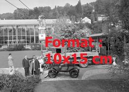 Reproduction Photographie Ancienne D'uncamionSaurer Berna Au Musée De Lucerne Suisse 1963 - Reproductions
