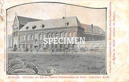 Klooster Der Eerw Paters Passionisten En Sint Antonius' Kerk @ Kortrijk - Kortrijk