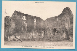 BOQUEN - Eglise - Abside Vue Du Sud - Andere Gemeenten