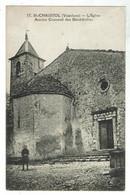ST CHRISTOL - Eglise Ancien Couvent Des Bénédictins - Bon état - Andere Gemeenten