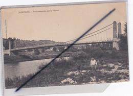 Dormans (51) Pont Suspendu Sur La Marne - Dormans