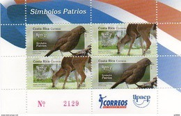2010 COSTA RICA - Birds, Horses - Unclassified