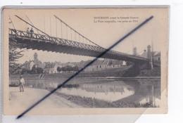 Dormans (51) Avant La Grande Guerre - Pont Suspendu Sur La Marne, Vue Prise En 1914 - Dormans