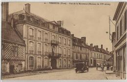CPA VERNEUIL SUR AVRE RUE DE LA MADELEINE - Verneuil-sur-Avre