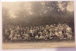 95 MONTSOULT Colonie De Vacances A La Villa Bhétanie Groupe De Septembre 1907 - Montsoult