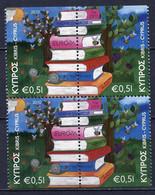 Europa CEPT 2010 Chypre - Zypern - Cyprus Y&T N°1194b à 1195h - Michel N°1181Du à 1182Do (o) - Se Tenant - 2010