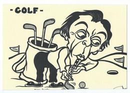 LARDIE - Golf Michel ROCARD - Service De Presse N°2/5 Signée Au Dos - Lardie