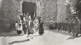 HAZEBROUCK M. Poincaré Et L' Abbé Lemire à La Sortie De L'église St Eloi 1919 - Sin Clasificación