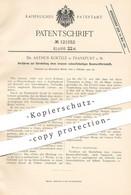 Original Patent - Dr. Arthur Koetzle , Frankfurt / Main , 1900 , Schwefelhaltiger Baumwollfarbstoff   Farbe , Wolle !!! - Documentos Históricos