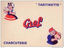 BUVARD  - Fromage GRAF - Tartinette Charcuterie - Sin Clasificación