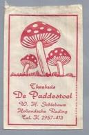 NL.- HOLLANDSCHE RADING. THEEHUIS - DE PADDESTOEL - W.H. SCHLEBAUM. Suikerzakje. Sucre. Sugar. Zucker. Zucchero. - Azúcar