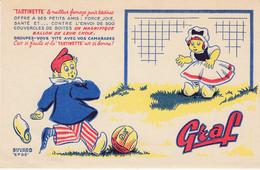 BUVARD  - Fromage GRAF - Tartinette - Football - Ballon - Sin Clasificación