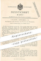 Original Patent - S. Flatow , Königsberg / Preussen 1898 , Färben Von Fellen Mit Blauholz   Felle , Felle , Pelz , Farbe - Documentos Históricos